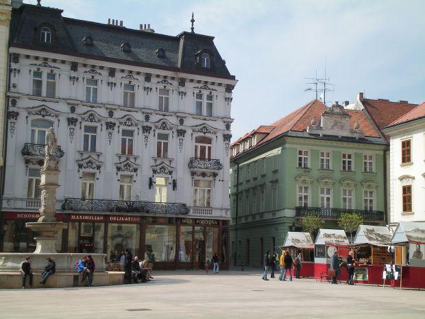 Praça Hlavné - Bratislava